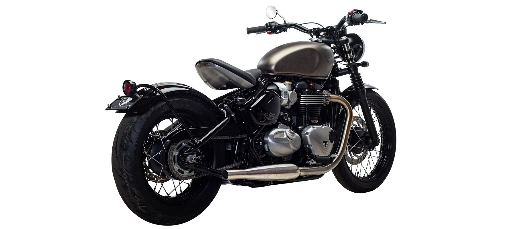 British Customs Sleeper Pro for Bonneville Bobber