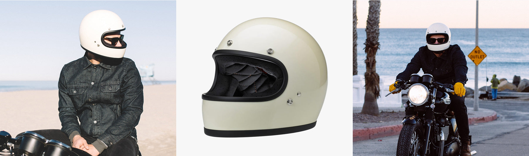 Biltwell Gringo Helmet from British Customs