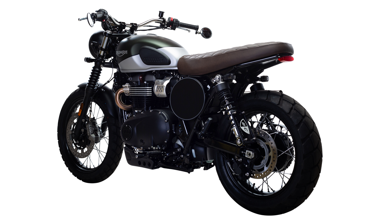 British Customs Triumph Street Scrambler Custom