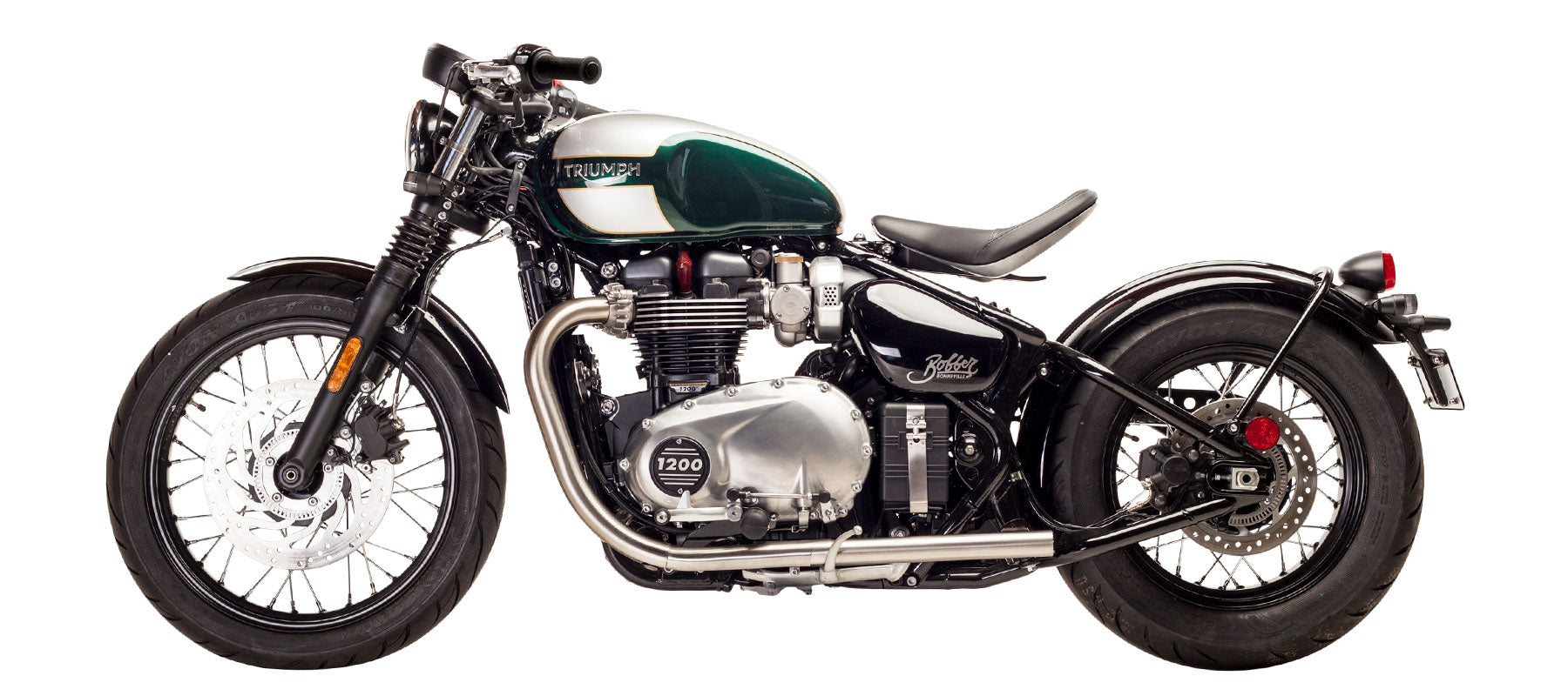 British Customs Straight Pipe Performance Tips for Bonneville Bobber