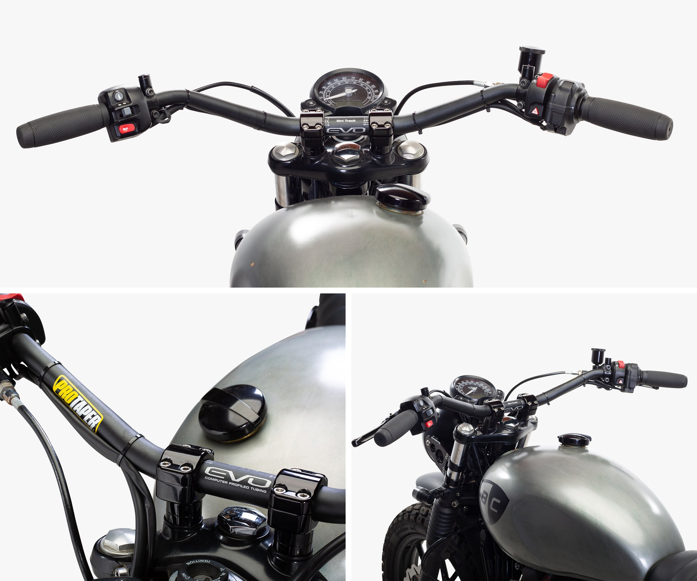 Pro Taper Triumph Handlebar Kit for Street Twin British Customs