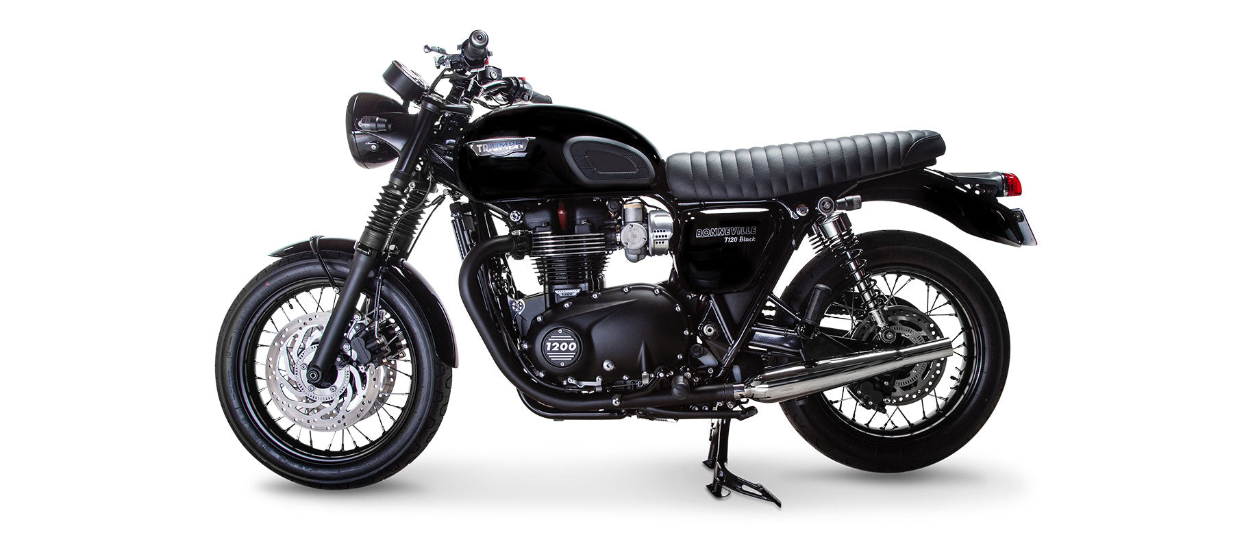 British Customs Sleeper Pro for Bonneville T120