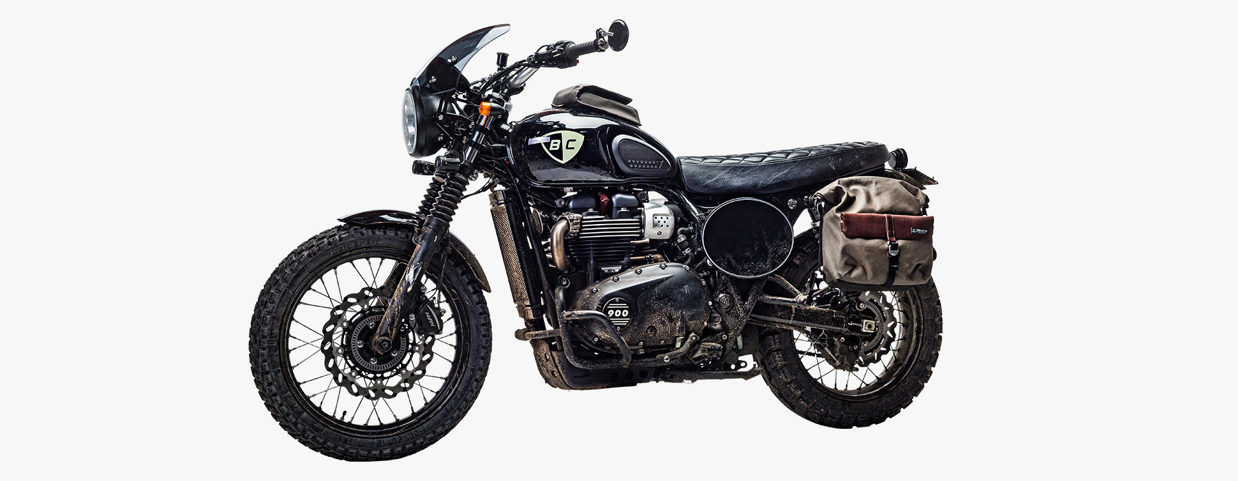 British Customs Number Plates for Triumph Street Scrambler