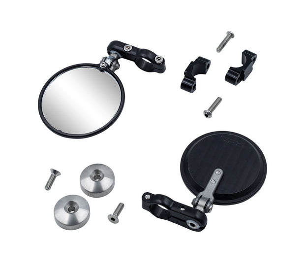 CRG Folding Bar End Mirror Kit