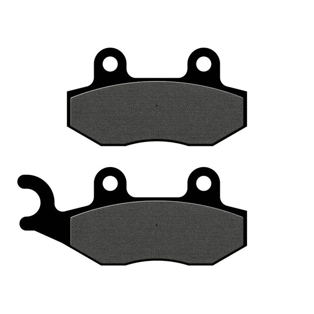 Semi-Metallic Compound Rear Brake Pads