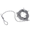 Halloween Party Supplies: Silver Barbed Wire Garland