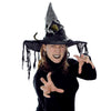 Witch Hat with Rat, party supplies, decorations, The Beistle Company, Halloween, Bulk, Holiday Party Supplies, Halloween Party Supplies, Halloween Stuff to Wear