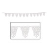 Die-Cut Spider Web Pennant Banner, party supplies, decorations, The Beistle Company, Halloween, Bulk, Holiday Party Supplies, Halloween Party Supplies, Halloween Party Decorations, Halloween Party Signs and Banners