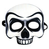 Beistle Skull Half Mask (Pack of 6) - Halloween Party Supplies, Halloween Stuff to Wear
