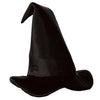 Halloween Party Supplies - Satin-Soft Black Witch Hat