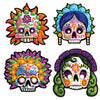 Party Supplies - Day Of The Dead Masks