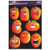 Halloween Party Supplies - Wacky J-O-L Clings