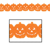 Halloween Party Supplies - Jack-O-Lantern Garland