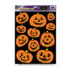 Halloween Party Supplies - Jack-O-Lantern Clings