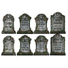 Halloween Party Supplies - Packaged Tombstone Cutouts