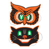 Beistle Owl & Cat Masks (12 packs) - Halloween Party Supplies, Halloween Stuff to Wear