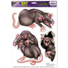 Rats Peel 'N Place Clings - Halloween Clings and Magnets