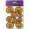 Halloween Party Supplies - Jack-O-Lantern Stickers