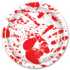 Bloody Handprints Plates