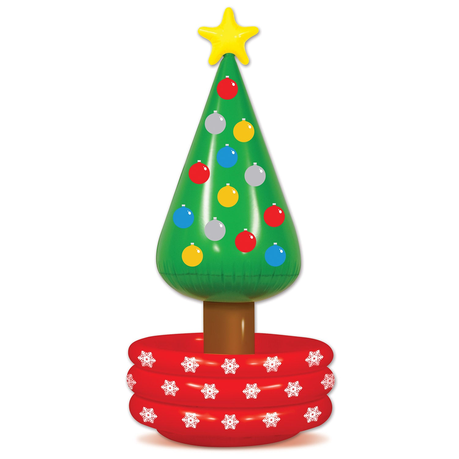 6ct Beistle Inflatable Christmas Tree Cooler - Bulk Party Supplies