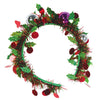 Holiday Tinsel Garland Headband, party supplies, decorations, The Beistle Company, Winter/Christmas, Bulk, Holiday Party Supplies, Christmas Party Supplies, Christmas Stuff to Wear