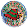 Christmas Official Elf Button