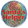 Christmas Santa's Helper Button
