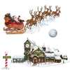 Christmas Santa's Sleigh & Workshop Props