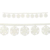 Fabric Snowflake Garlands Decoration