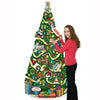 Jointed Christmas Tree - slotted to hold greeting cards
