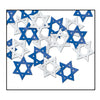 Fanci-Fetti Star of David - blue & silver