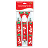 Candy Cane & Holly Suspenders - adjustable