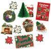Christmas 10 Piece Decorama Kit
