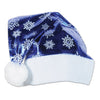 Metallic Blue Santa Hat, party supplies, decorations, The Beistle Company, Winter/Christmas, Bulk, Holiday Party Supplies, Christmas Party Supplies, Christmas Stuff to Wear