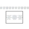 Glittered Snowflake Streamer Decoration