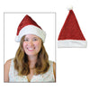 Metallic Santa Hat, party supplies, decorations, The Beistle Company, Winter/Christmas, Bulk, Holiday Party Supplies, Christmas Party Supplies, Christmas Stuff to Wear