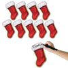 Christmas Stocking Cutout Decoration