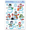 Christmas Snowman/Snowflake Clings