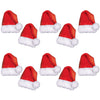 Mini Santa Hat Cutout Decoration
