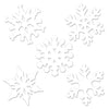Mini Snowflake Cutout Decoration