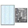 Snowflake Party Panels, party supplies, decorations, The Beistle Company, Winter/Christmas, Bulk, Holiday Party Supplies, Christmas Party Supplies, Christmas Party Decorations, Snowflakes Christmas Decorations