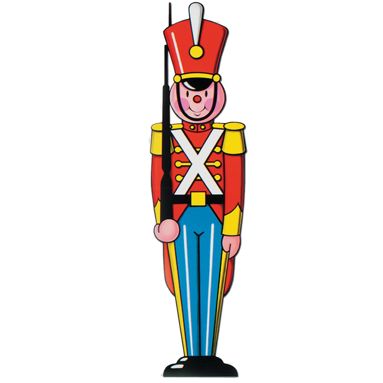 Christmas Stand In Cutouts.Christmas Toy Soldier Cutout Decoration Case Of 24