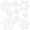 Snowflake Cutout Decoration