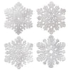 Christmas Packaged Silver Snowflakes Decoration