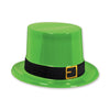 Beistle Plastic Leprechaun Top Hat (Pack of 25) - St. Patricks Day Party Supplies, St. Patricks Day Stuff to Wear