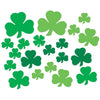 Beistle Printed Shamrock Cutouts (12 packs) - St. Patricks Day Party Decorations and Accessories, St. Patricks Day Party Supplies