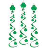 Saint Patrick's Day Party Supplies - Shamrock Whirls