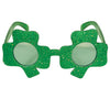Beistle Glittered Shamrock Fanci-Frames (Pack of 6) - St. Patricks Day Party Supplies, St. Patricks Day Stuff to Wear