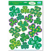 Christmas Irish-Mood Shamrock Clings