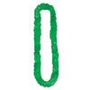 Soft-Twist St Patrick's Poly Leis - green